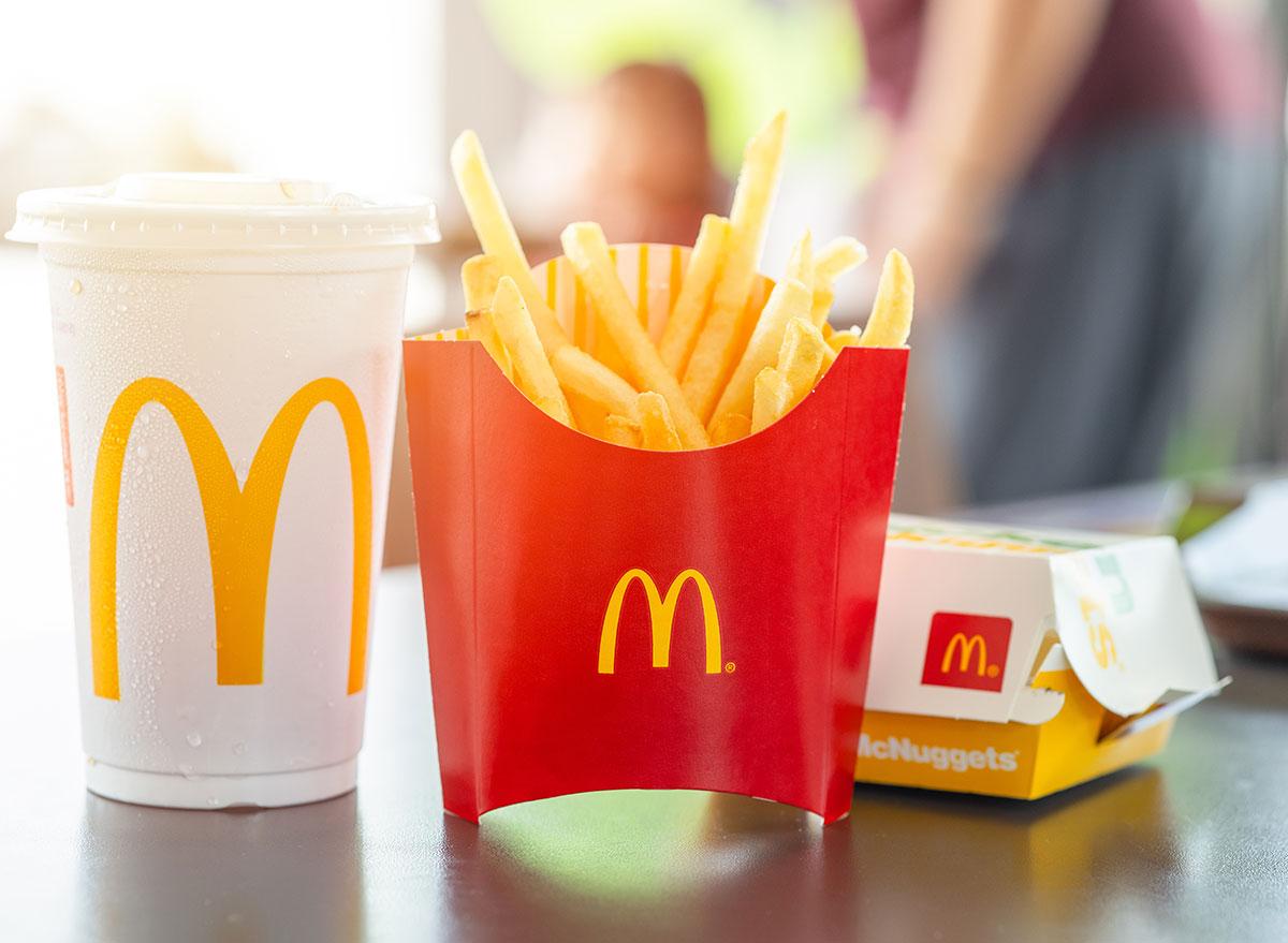 mcdonalds value meal