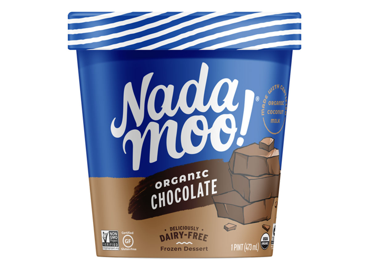 nadamoo chocolate ice cream