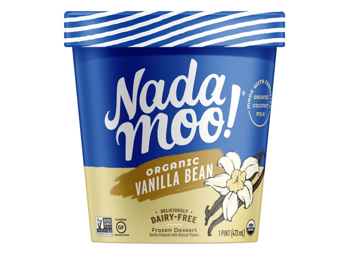 nadamoo vanilla bean dairy free ice cream