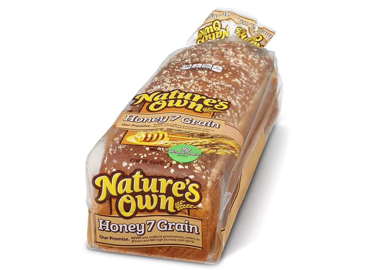 natures own honey 7 grain