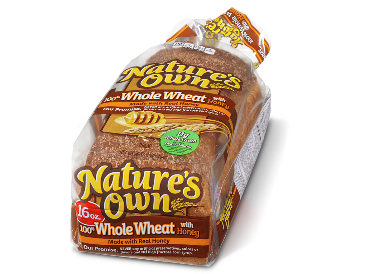 natures own whole wheat hone