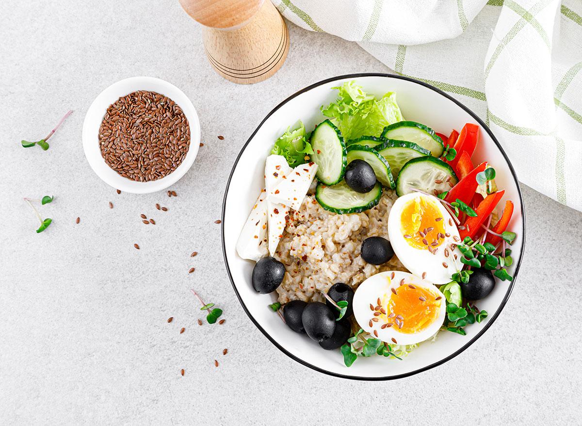 oatmeal veggies