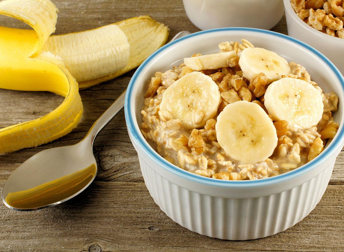 overnight oats banana
