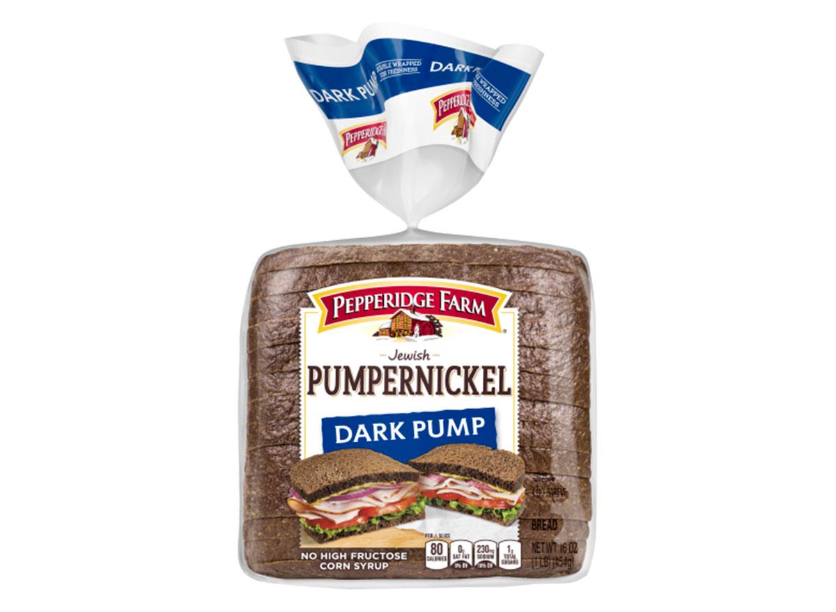 pepperidge farm pumpernickel