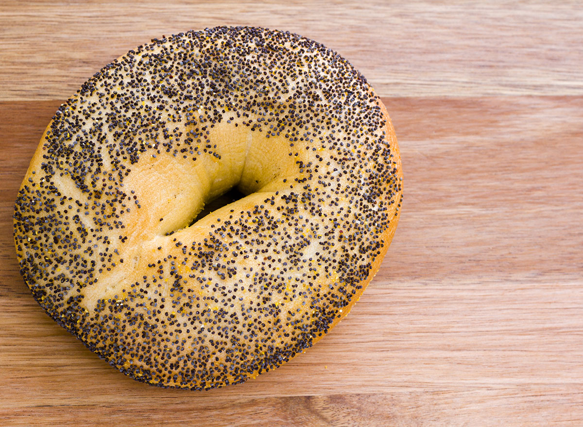 poppyseed bagel