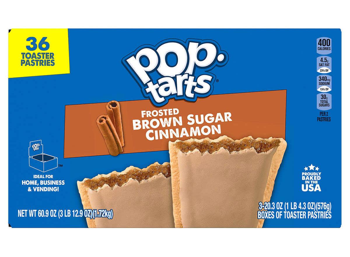 poptarts brown sugar cinnamon