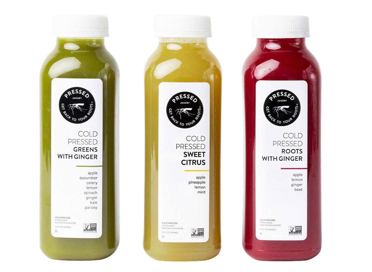 pressed juicery cold pressed juices