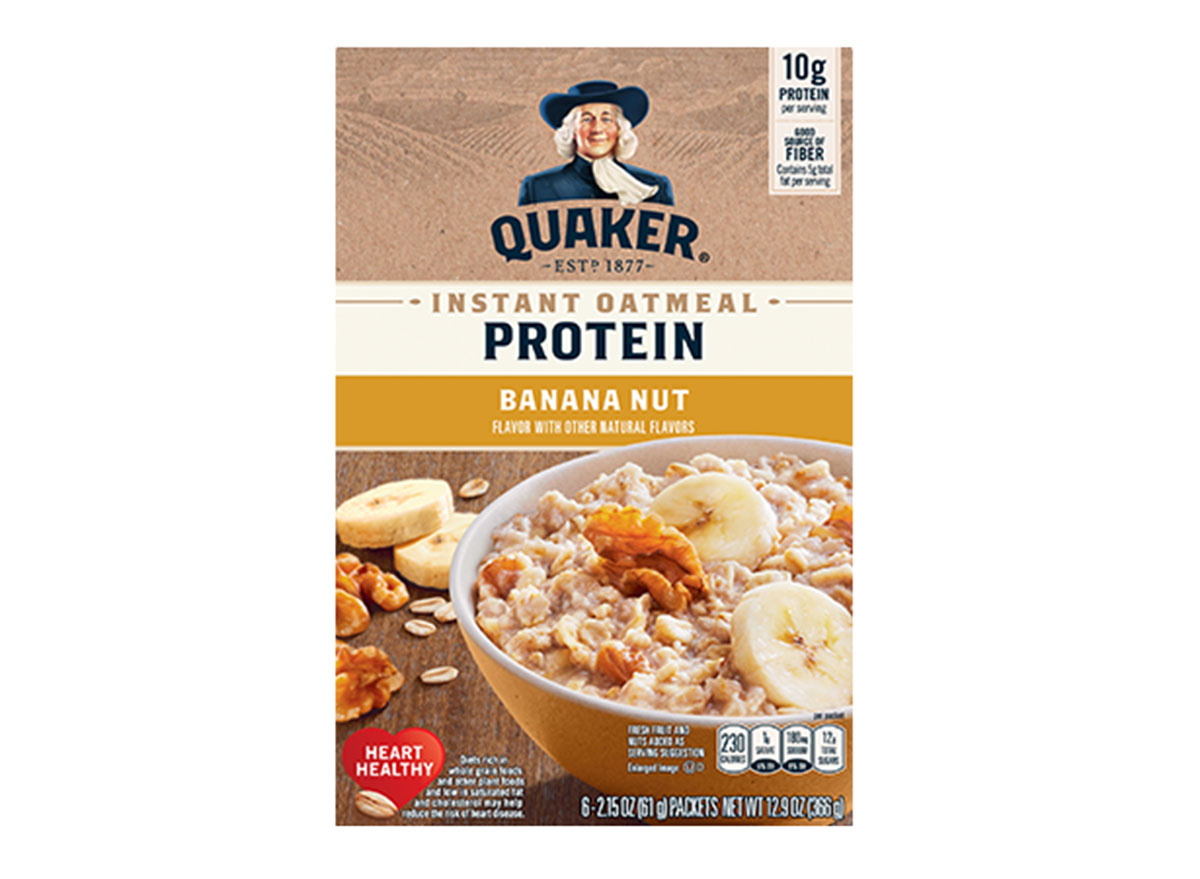 quaker banana nut oatmeal