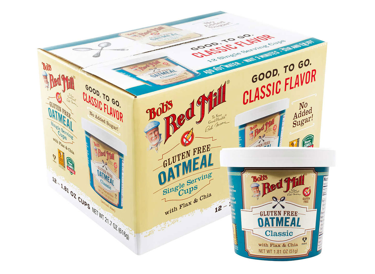 red mill oatmeal