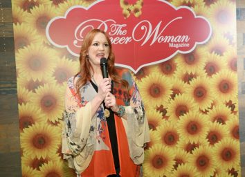 ree drummond talking into microphone