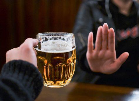 refusing beer