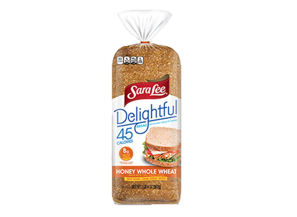 sara lee delightful honey whole wheat