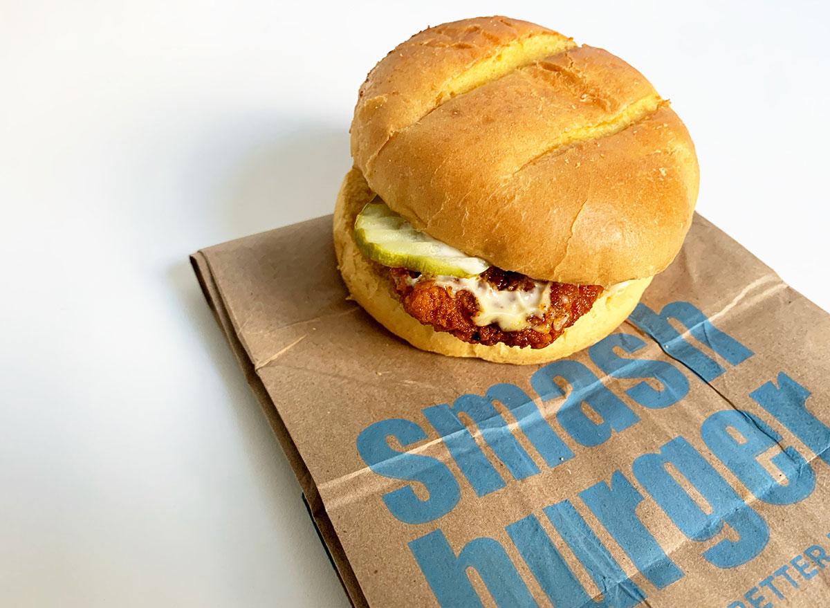 smashburger chicken sandwich