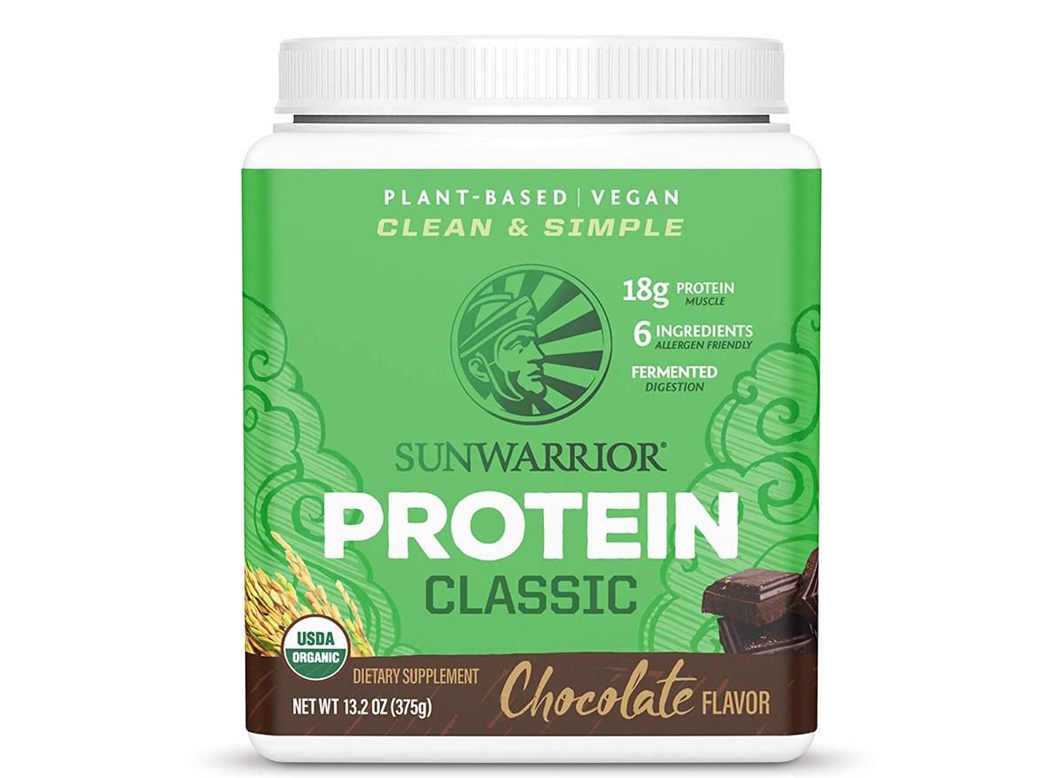 Sunwarrior Protein Powder Classic Chocolate