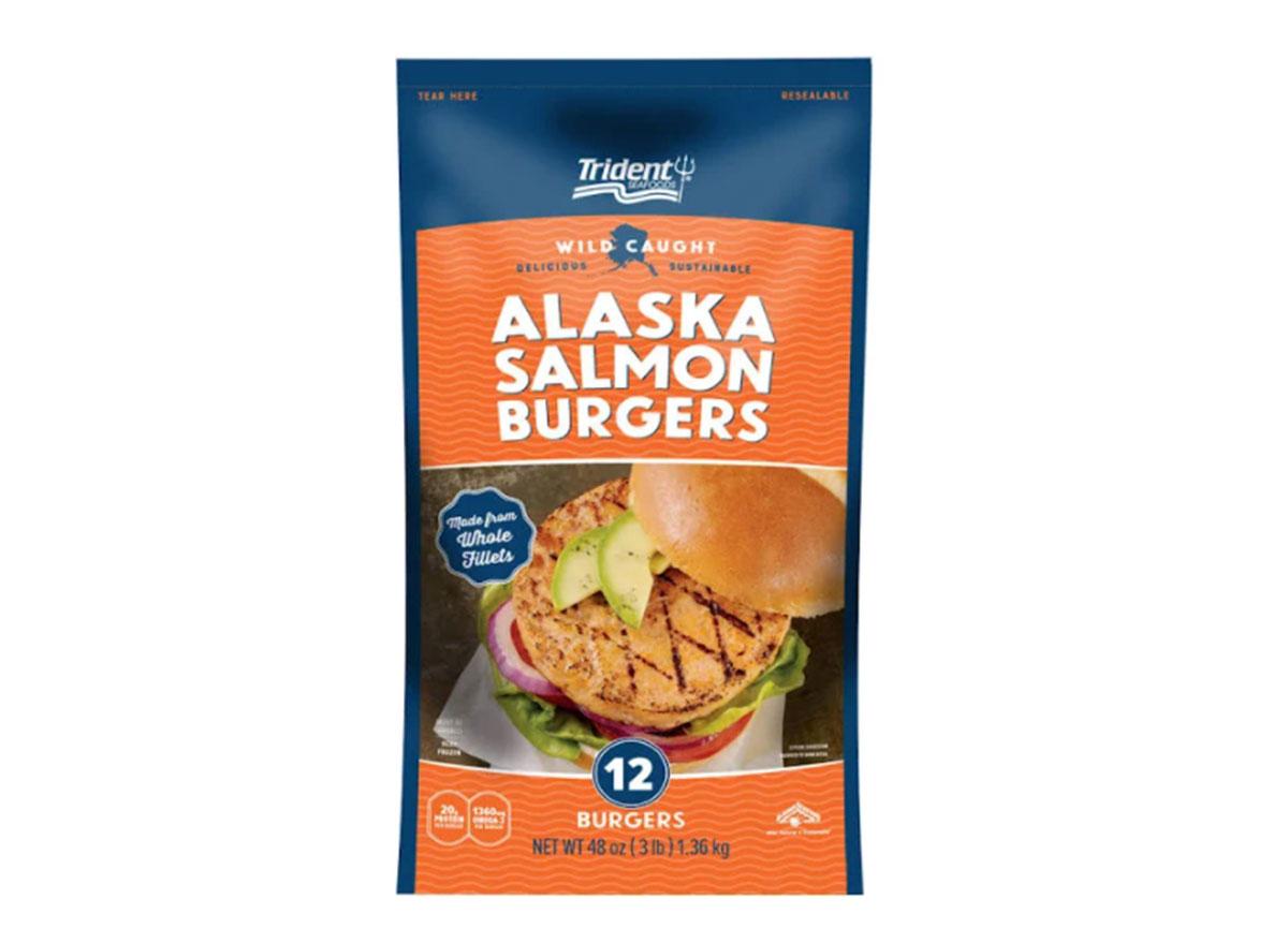 trident salmon burgers