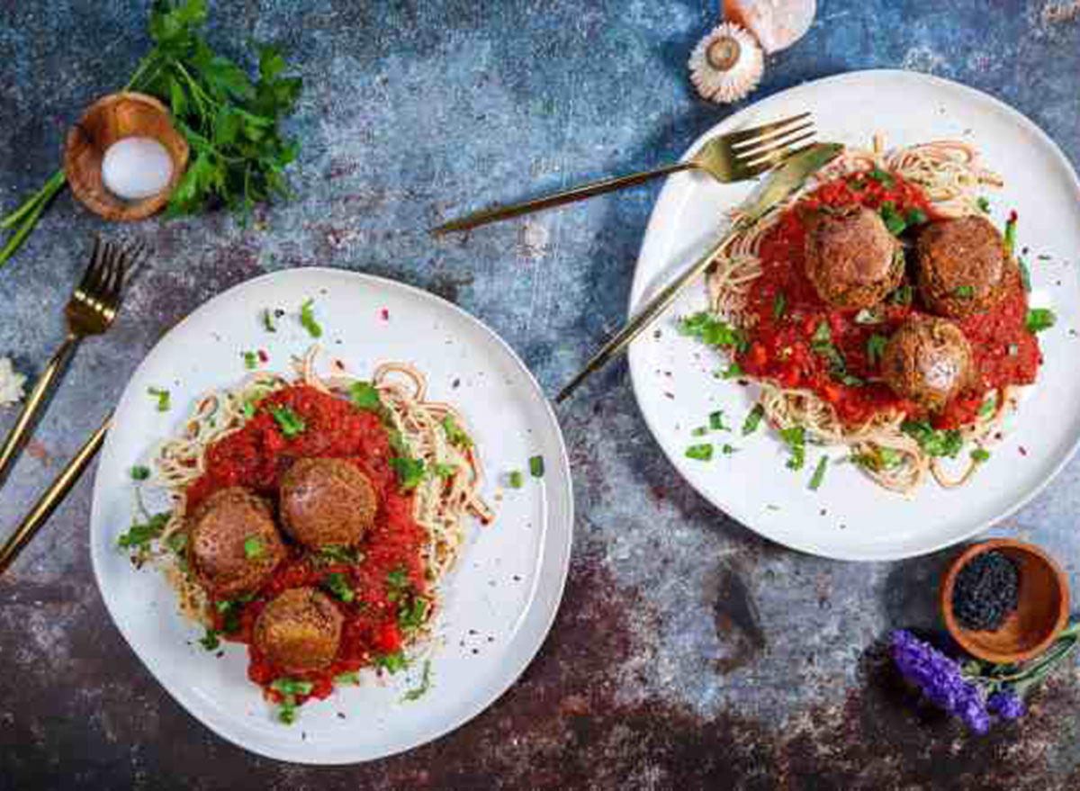 vegan eggplant meatballs