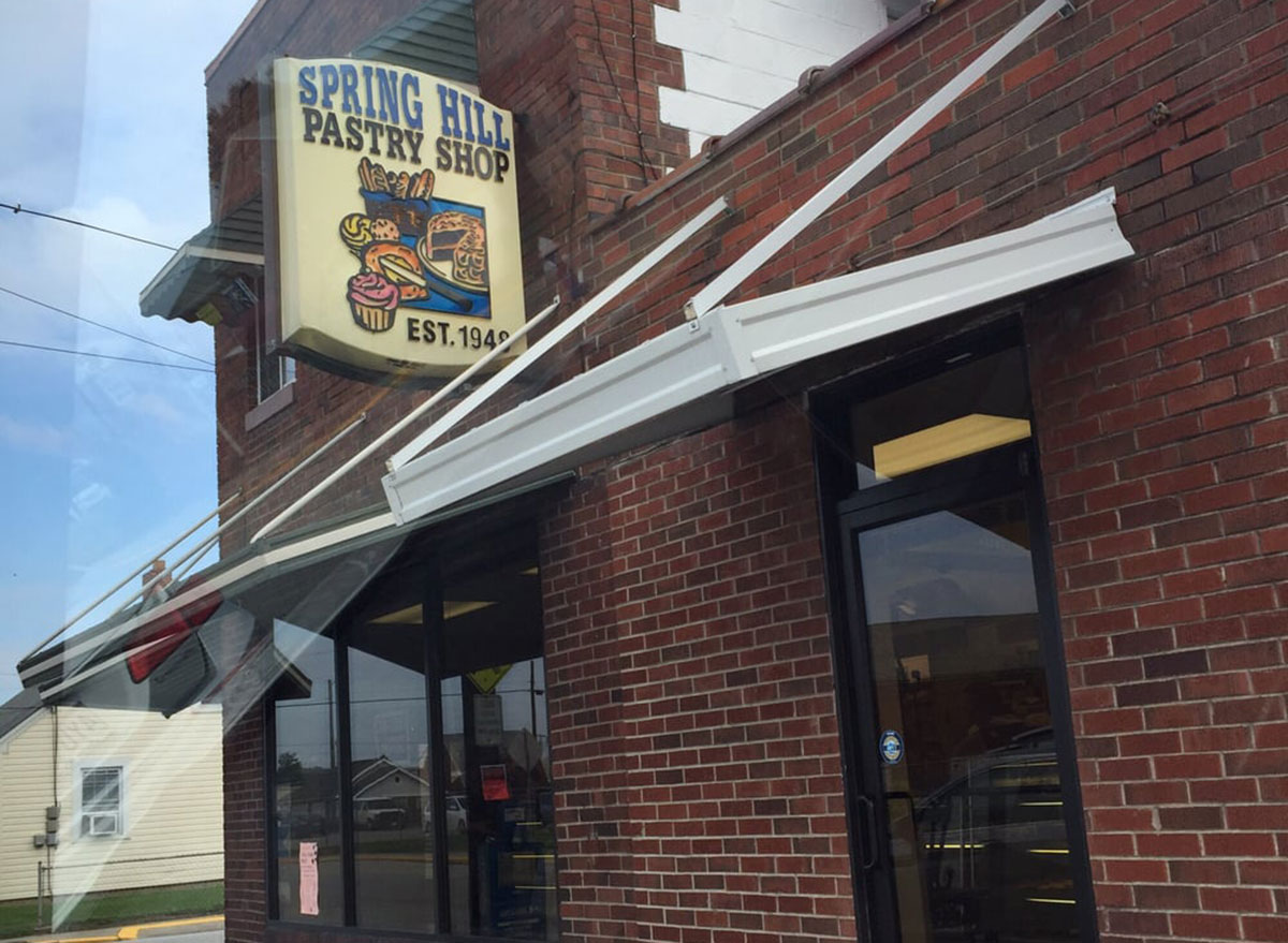west virginia spring hill pastry shop