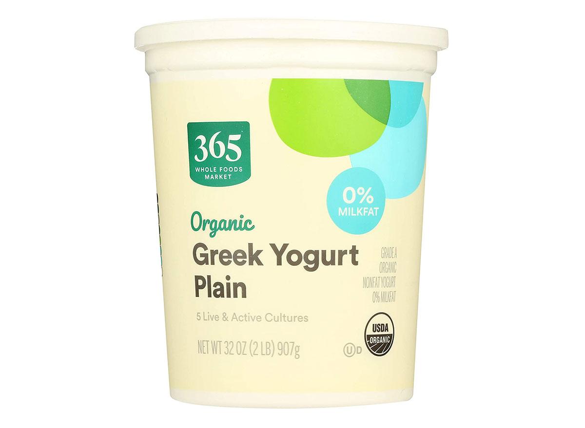 365 organic greek yogurt