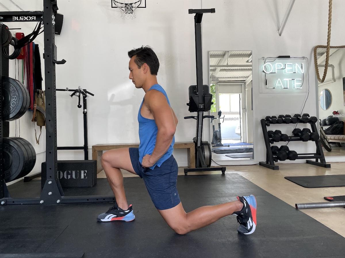 4 split squat