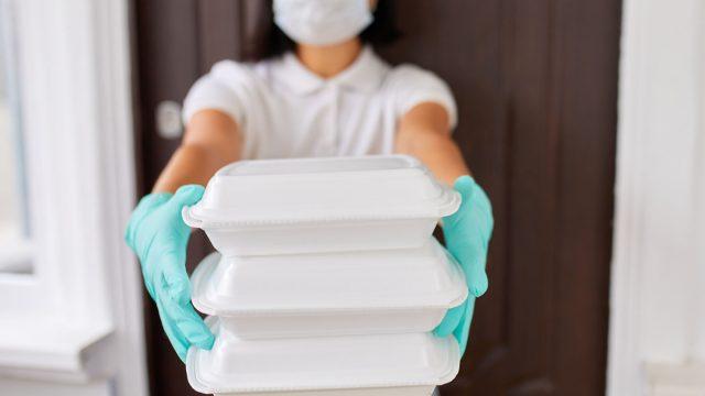 Styrofoam container