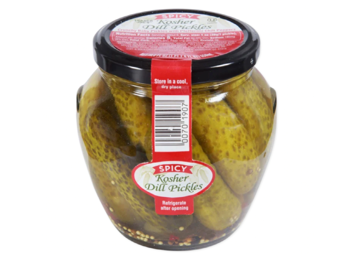 Trader Joe's Spicy Dill Pickles