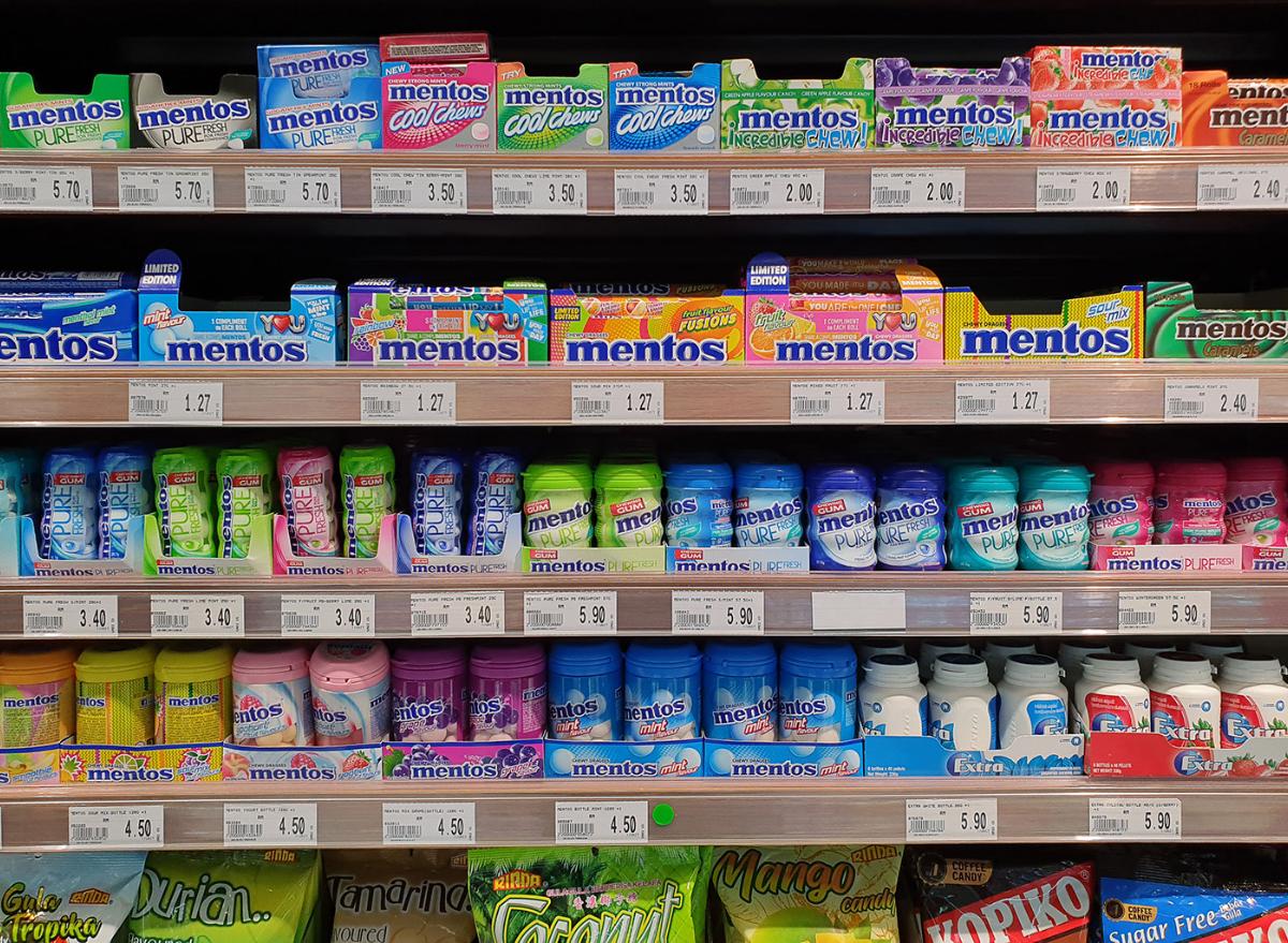 Grocery gum