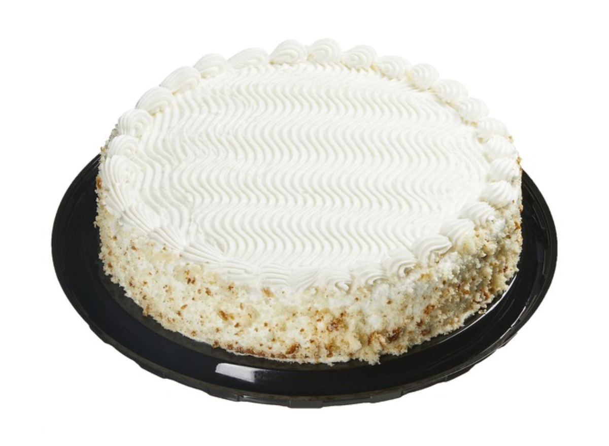 Costco White Cake Filled with Vanilla Cheesecake Mousse