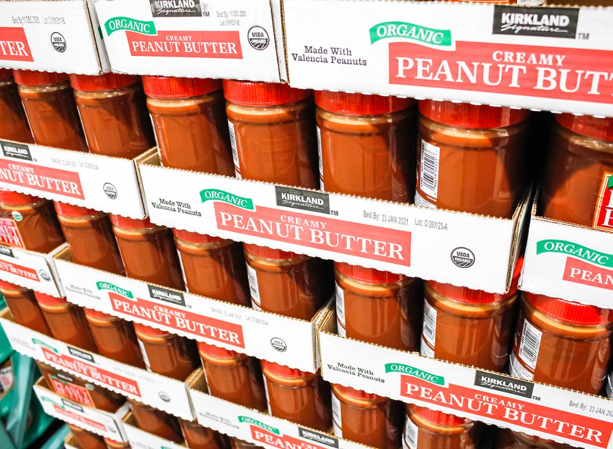Costco peanut butter