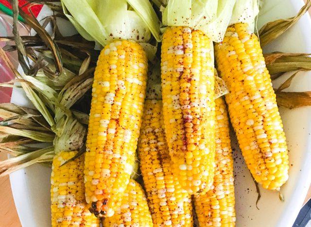 Sweet Heat Chili Maple Grilled Corn