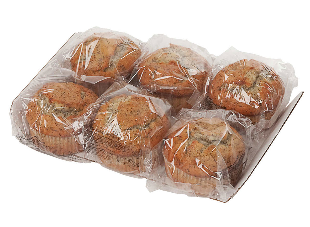 almond poppy muffin