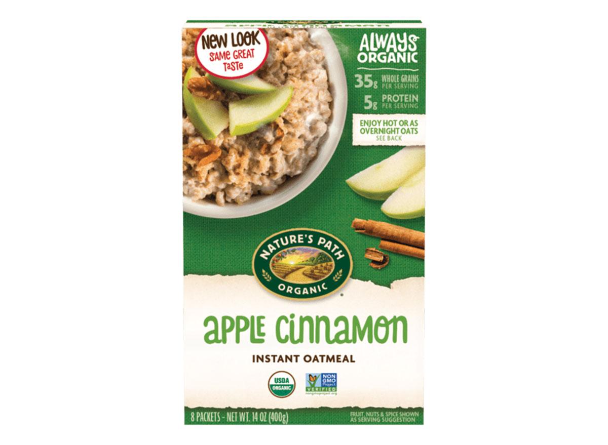 apple cinnamon instant oatmeal