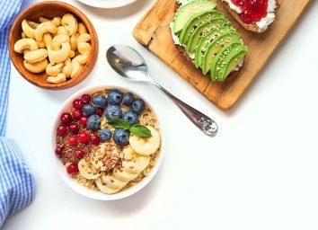 avocado toast oatmeal