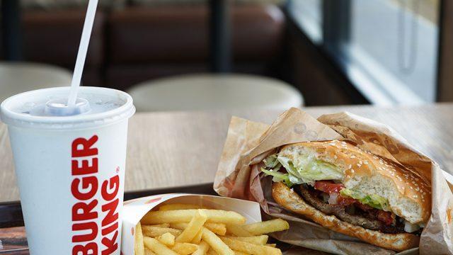 burger king food