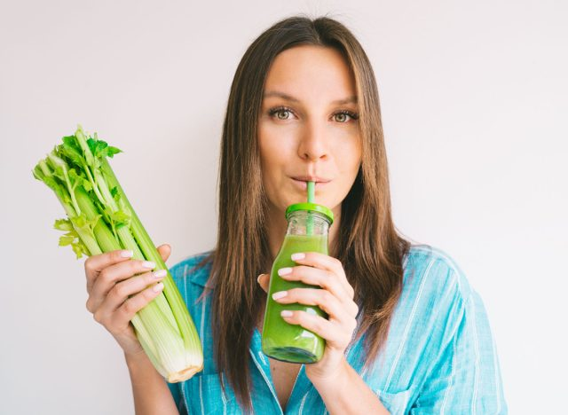 One Major Effect of Drinking Celery Juice, Says Science