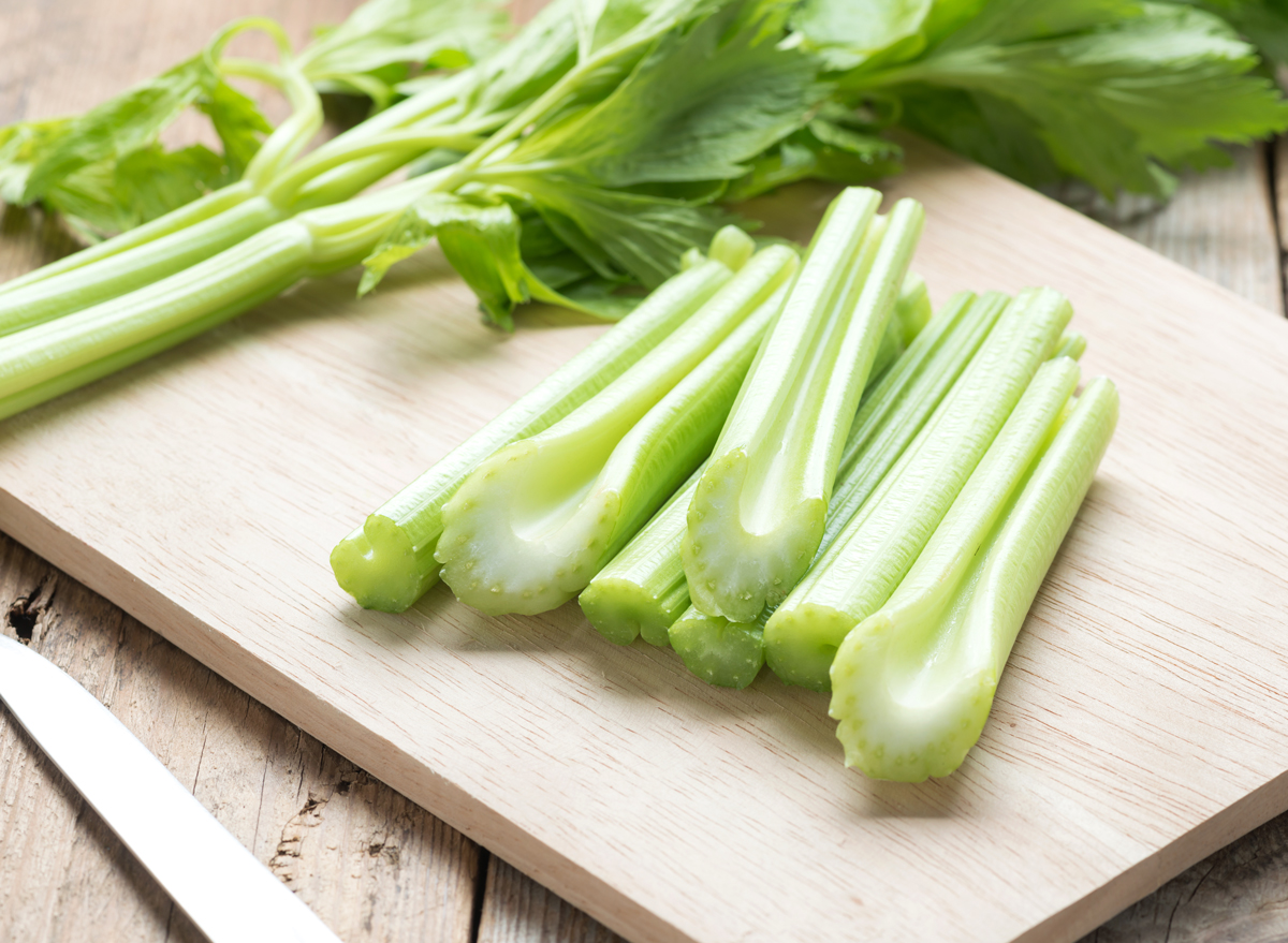 One Major Side Effect of Eating Celery, Says Dietitian   Eat This Not That