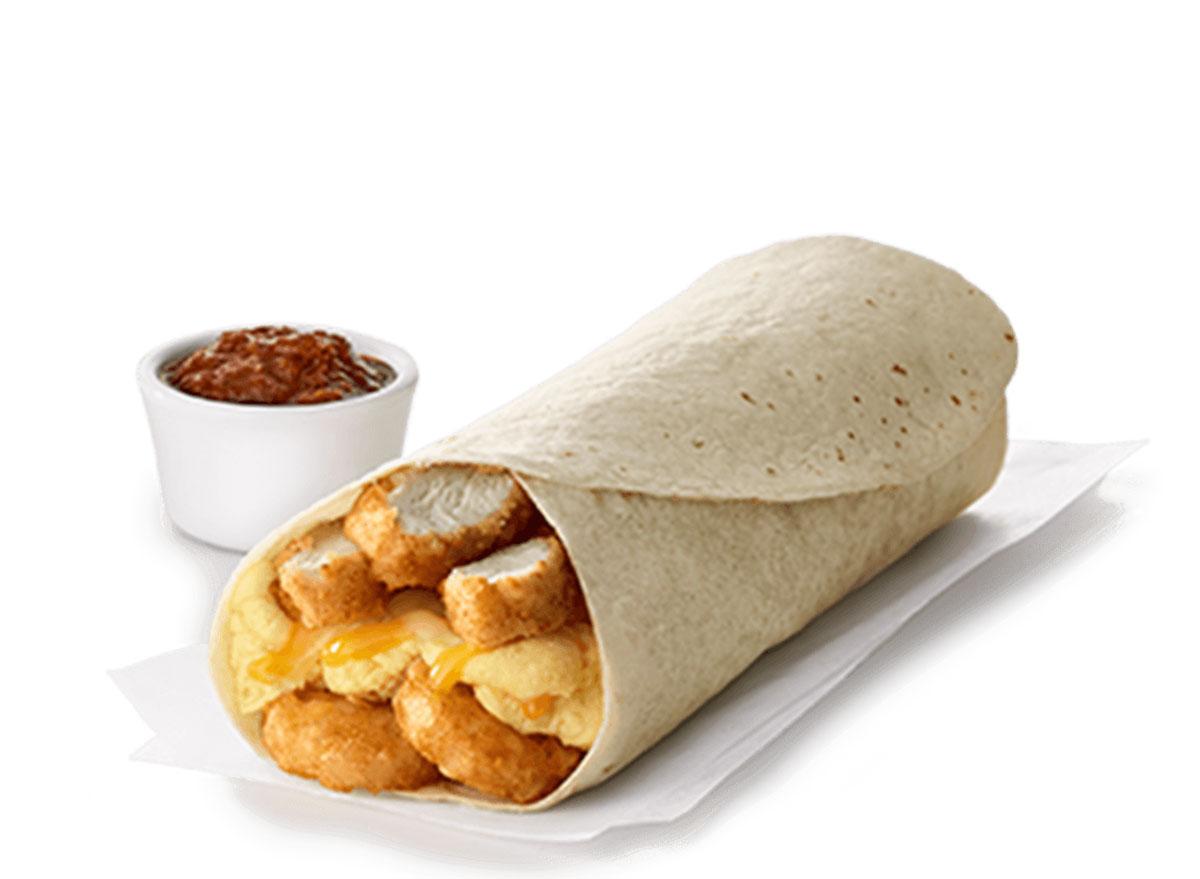 chick fil a hash brown burrito