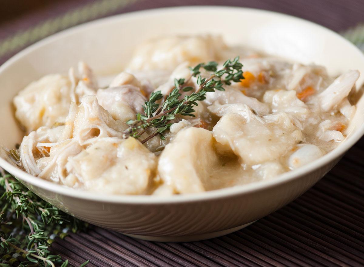 chicken dumplings rosemary