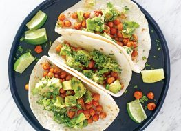 chipotle chickpea tacos