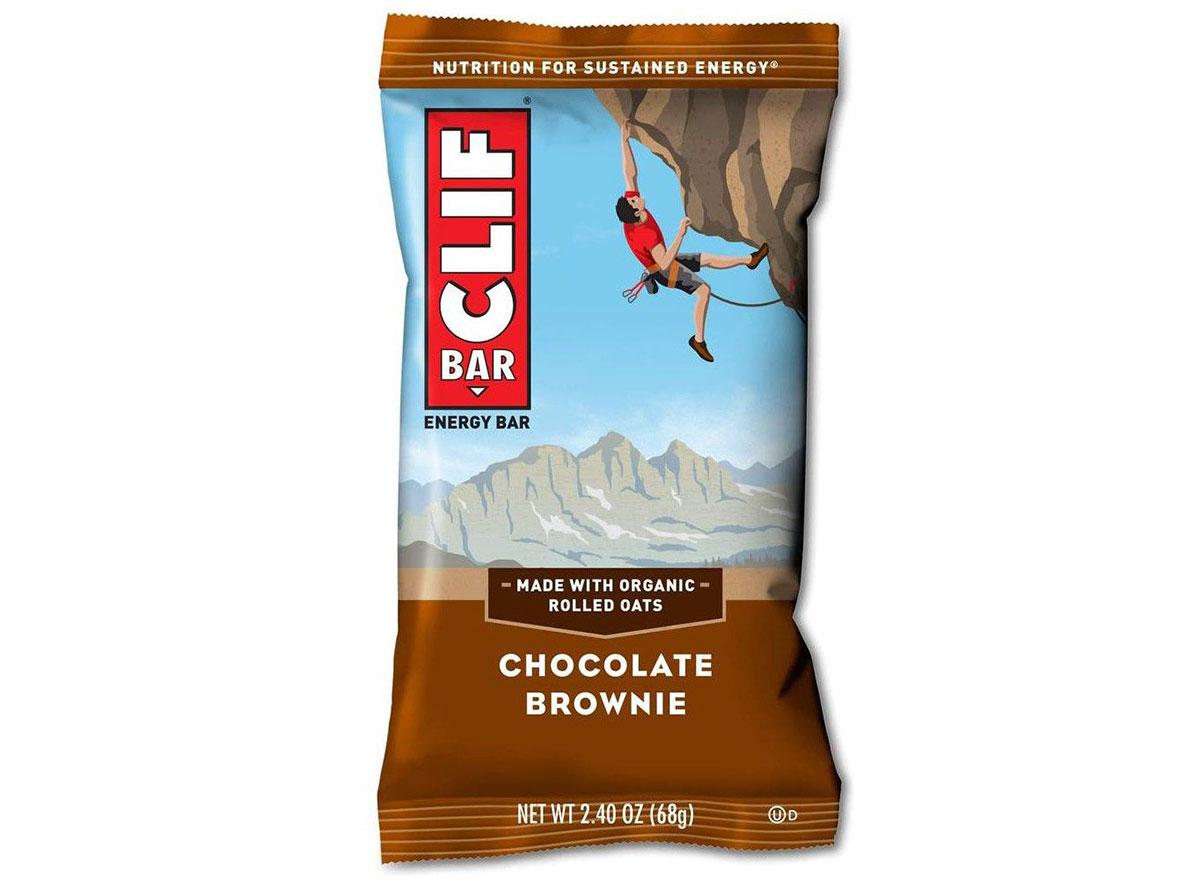 chocolate brownie clif bar
