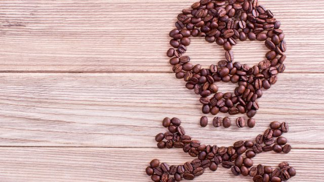 Decaf coffee toxic