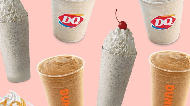 fast food drinks