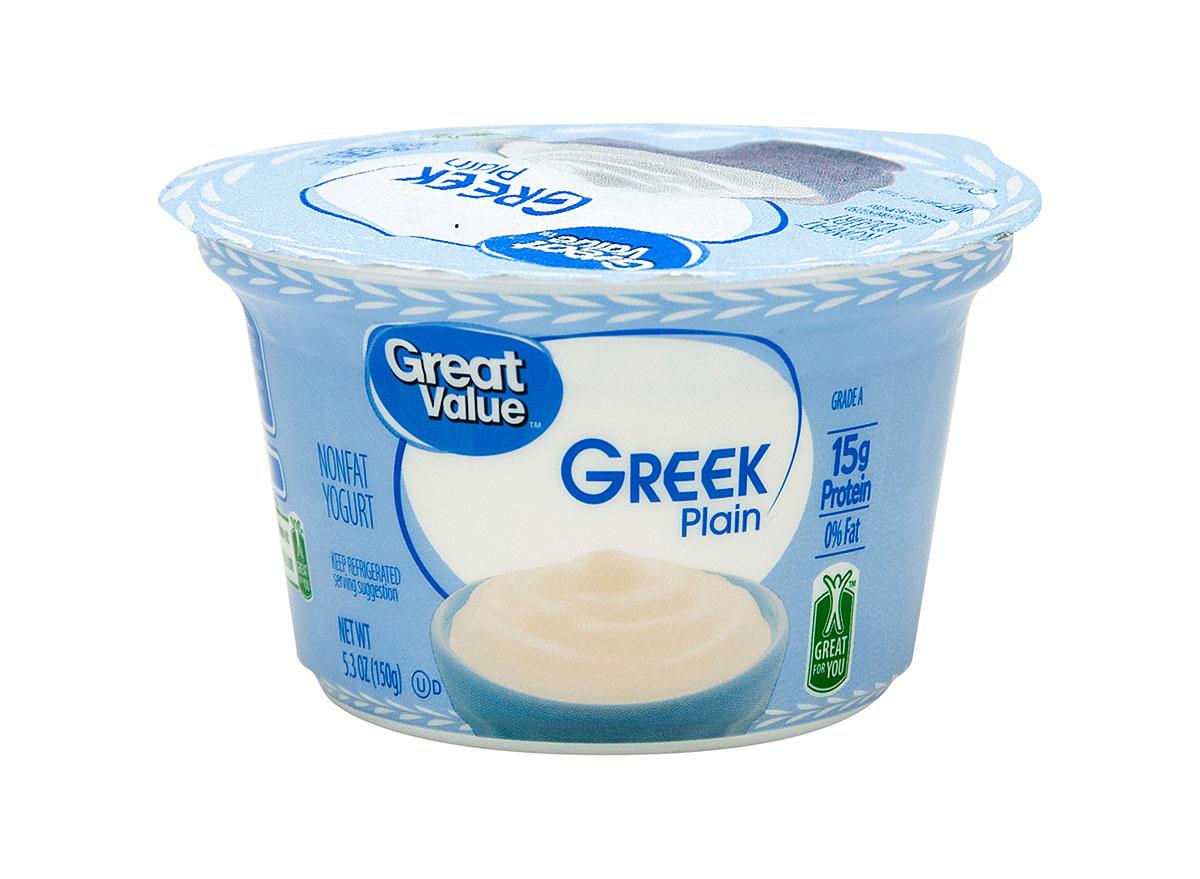 great value nonfat yogurt