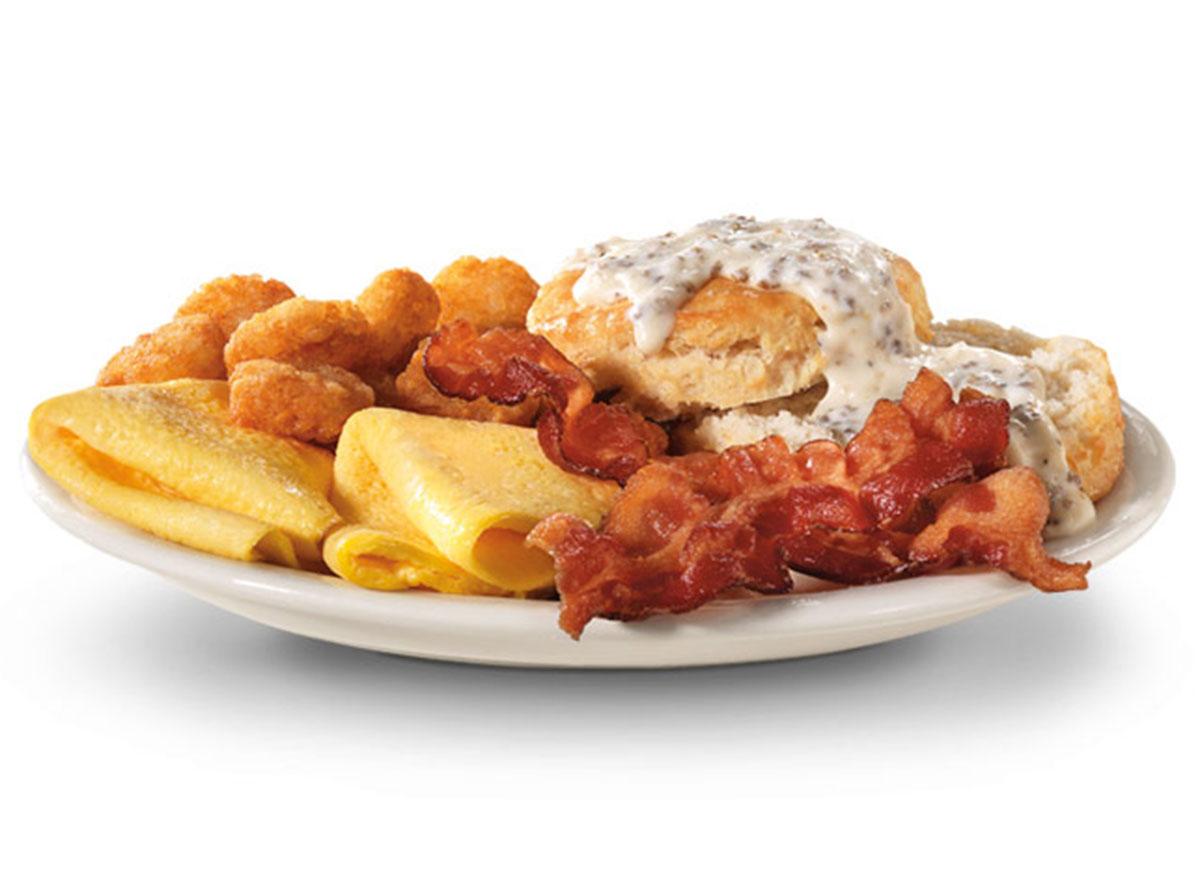 hardees breakfast
