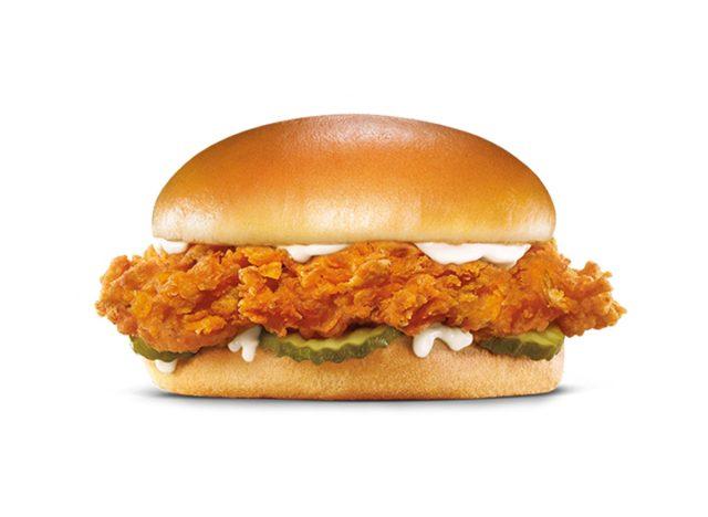 hardees chicken sandwich