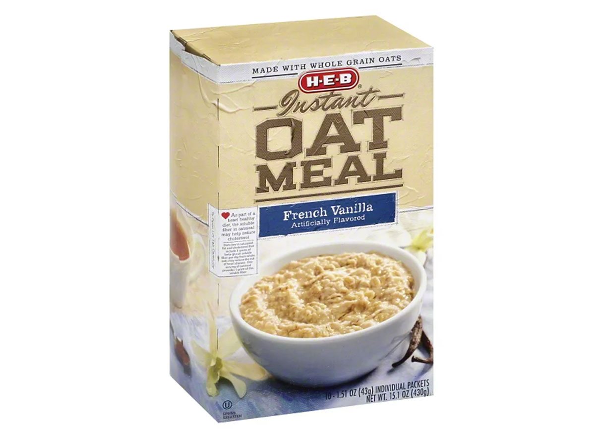 heb instant oatmeal