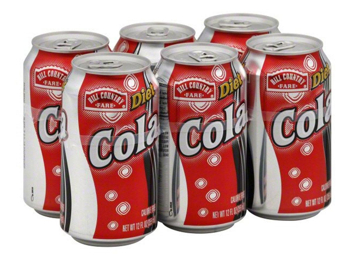 hill country fare soda