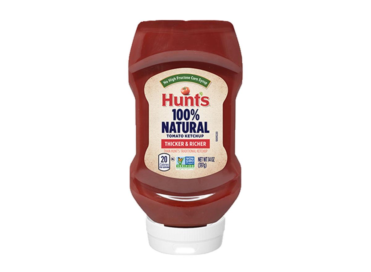 hunts natural tomato ketchup