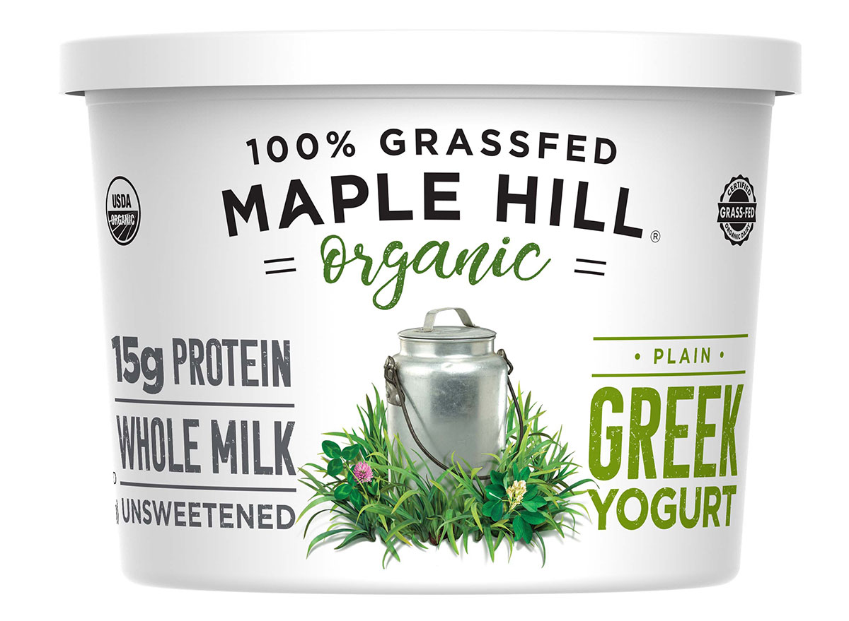 maple hill organic creamery