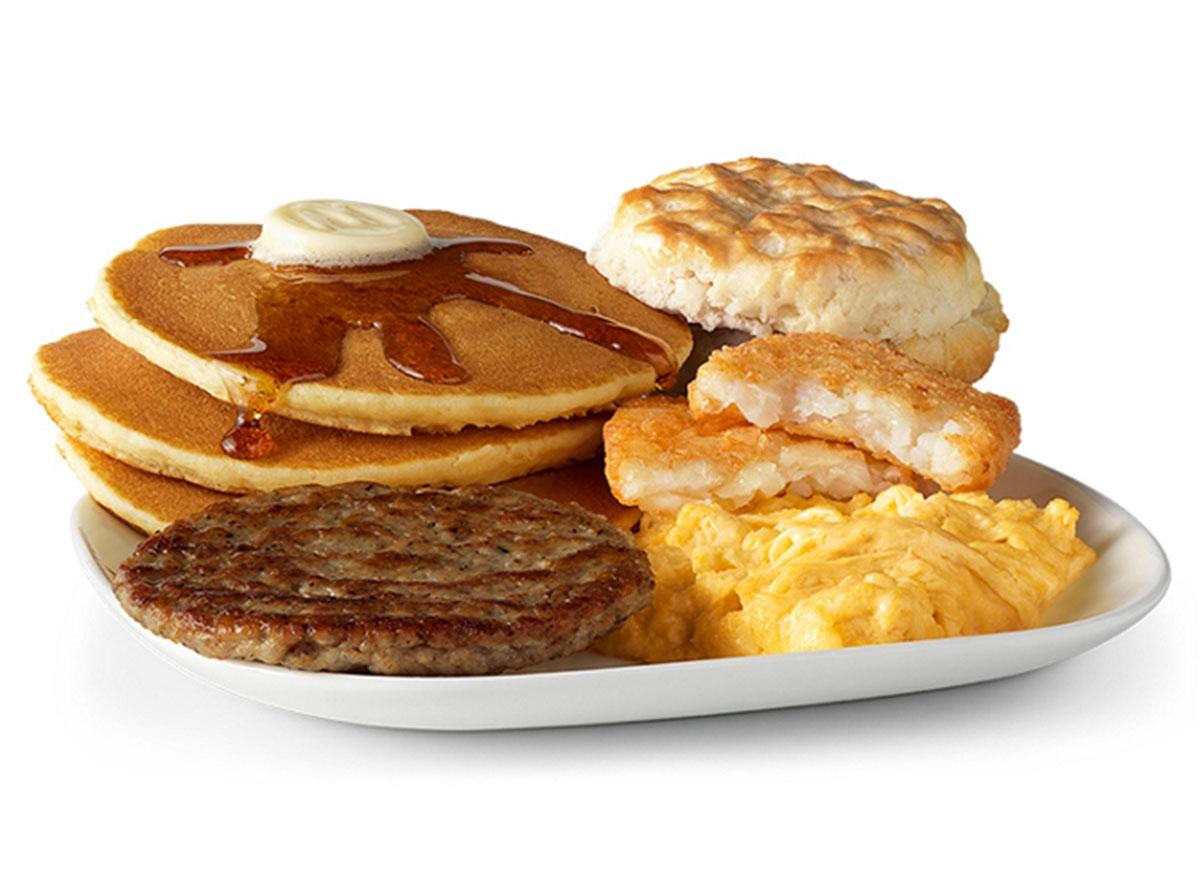 mcdonalds big breakfast hotcakes