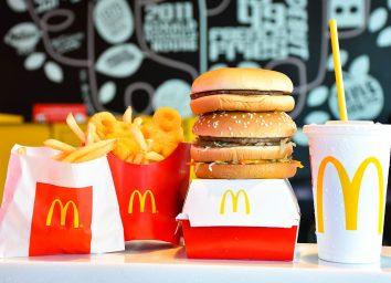 mcdonalds burgers fries